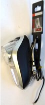 Simson White Koplamp - Fietslamp - (Naaf)Dynamo - LED - Zilver
