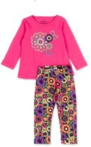 LOSAN Kids 2-delig meisjes set kleur: framboos roze maat: 98 cm (3 Y)