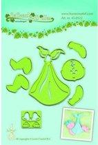LeCrea - Leabilitie Baby snij en embossing mal 45.0522