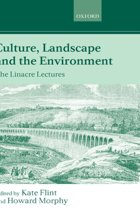 Culture, Landscape, and the Environment