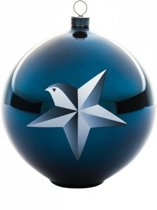 ALESSI Blue Christmas Kerstbal Ster