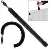 Flexibele radiatorborstel