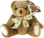Toi-toys Knuffelbeer Donkerbruin 20 Cm