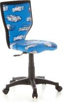 hjh office Kiddy Lux - Bureaustoel - Kinder - Cars Blauw