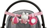 Nijntje Denim Autostoelspeeltje - Roze