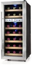 Domo DO911WK - Wijnkoeler - 21 flessen - 2 temperatuurzones