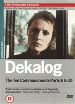 Dekalog: The Ten Commandments Parts 6-10 (2DVD) (Kieslowski)