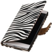 BestCases.nl Zebra booktype wallet cover hoesje voor Samsung Galaxy A3 2017 A320F