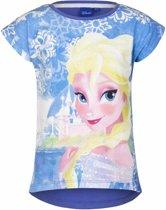 Disney Frozen t-shirt blauw voor meisjes 110 (5 jaar)