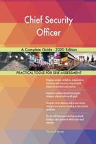 Chief Security Officer a Complete Guide - 2020 Edition