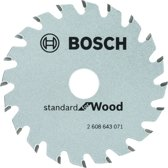 Bosch Cirkelzaagblad Optiline Wood - 85 mm