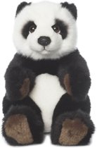 WWF Panda Zittend - Knuffel - 15 cm