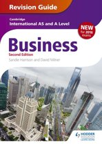 Cambridge International AS/A Level Business Revision Guide 2nd edition