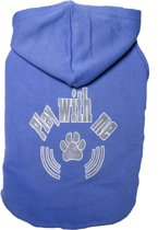 Nobby t-shirt play with me blauw - 35 cm