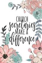 Church Secretaries Make a Difference