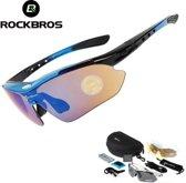 6e146512854430 Polariserende Fietsbril - Zonnebril - Snelle planga - Fiets Sport Bril -  Complete Luxe Sportbril Set