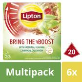 Lipton Bring the Boost Groene Thee - 120 theezakjes