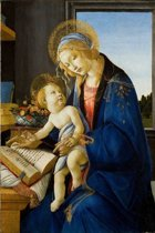 Sandro Botticelli : The Virgin and Child (1480) Canvas Print