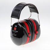 Peltor Gehoorbescherming optime III rood zwart