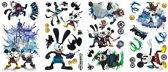 Roommates Muurstickers Mickey Mouse 2 Vinyl 33 Stuks
