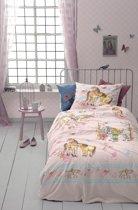 Cinderella Tiamo Dekbedovertrek - eenpersoons - 140 x 200 cm  - Pink