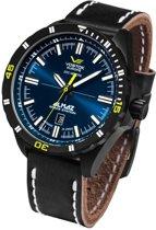 Vostok Europe NH35A-320C257 horloge heren - zwart - edelstaal PVD zwart