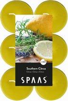 Theelicht maxi zuiderse citrus - 10 uren - set van 36 stuks