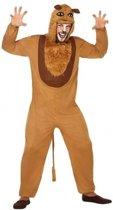Dierenpak verkleed kostuum leeuw voor volwassenen XL