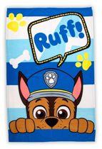 Paw Patrol fleece deken - blauw - 150 x 100 centimeter
