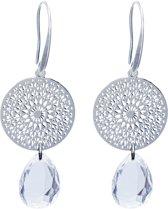 TABOO dames oorbellen NOLA Zilverkleurig Crystal
