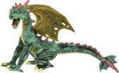 Toi-toys Vliegende Draak Groen/ Geel 13 Cm
