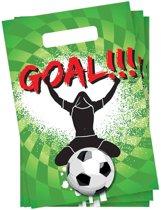 Goal Partytasjes - 6 Stuks