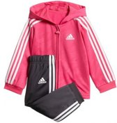 Adidas - Shiny Full Zip Hooded Jogger - Kinderen
