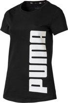 PUMA Rebel Tee Shirt Dames - Puma Black - Maat XS
