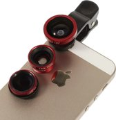 United Entertainment - 4 in 1 Lens Set - Opzetlens Smartphone/Tablet