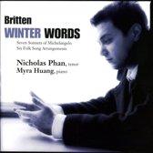 Winter Words - Songs By Britten