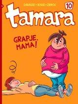 Tamara 10. grapje, mama !