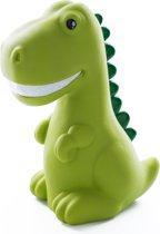 RMEX Dinosaurus Kinderlamp LED Multikleur licht met Timerfunctie Trendy– Groen