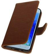Samsung Galaxy J3 2018 Bruin | Premium bookstyle / book case/ wallet case  | WN™