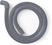 Afvoerslang | 22 mm Gehoekt - 19 mm Recht | 0,5 Bar | 60 °C | 2,50 m