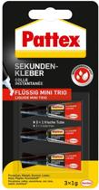 Pattex Super Secondelijm Mini Trio 3 stuks