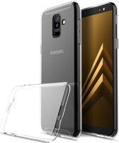 Samsung Galaxy A6 Plus TPU Hoesje Transparant
