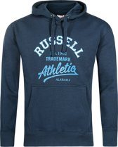 Russell Athletic - Pull Over Hoody - Heren - maat L