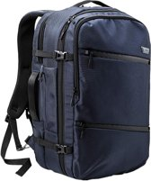CabinMax Tromso Handbagage Rugzak | 38L Handbagage 55x 35x 20cm - Lichtgewicht - Blauw (TROMSO NY)