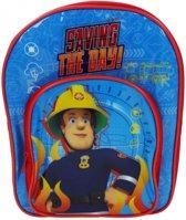 Brandweerman Sam Saving The Day - Rugzak - Rood