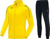Jako Classico  Trainingspak - Maat L  - Mannen - geel/zwart