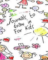 Journals To Draw In For Kids