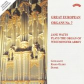 Jane Watts Plays the Organ of Westminster Abbey