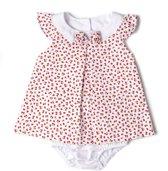 Babybol meisjes jurkje kriekjes - 68
