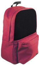 Backpack 13 - 240 small pixels - red/black